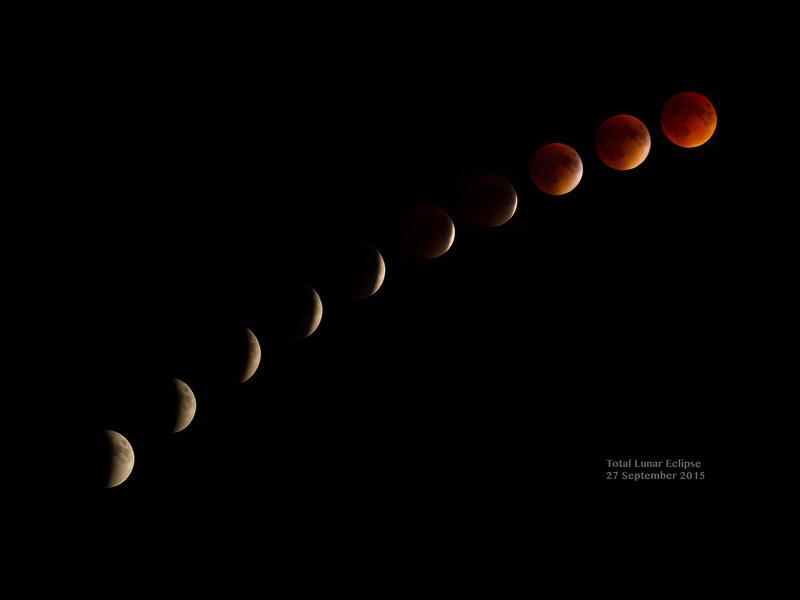 Total Lunar Eclipse - 27 September 2015