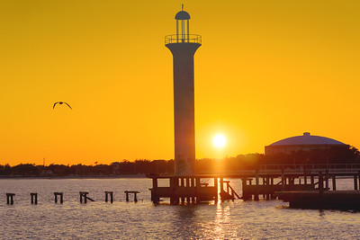 Sunset Over Biloxi