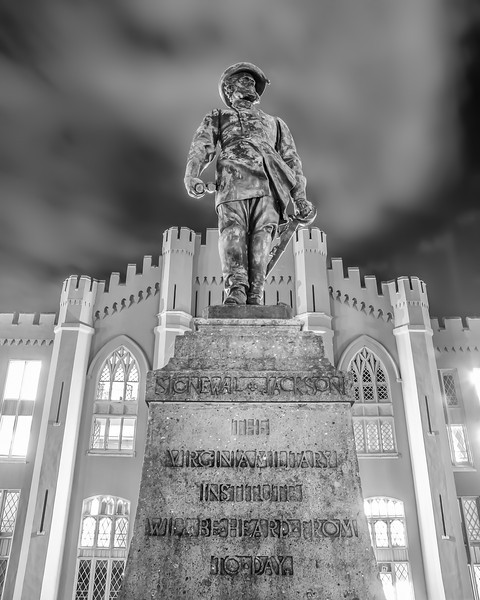 Stonewall Jackson - VMI Barracks
