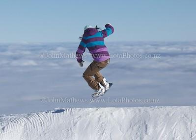 20120718 Snow Boarders on Turoa ski field _MG_5309 WM