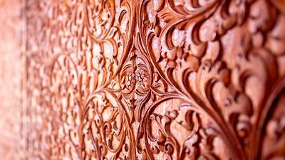 Wood Detail Istiqlal