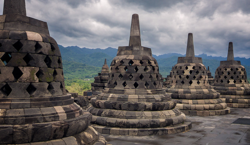 Borobudur Bell Shapes