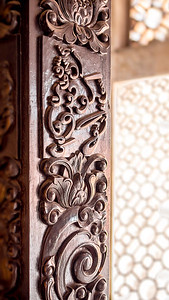 Mosque Drum Detail