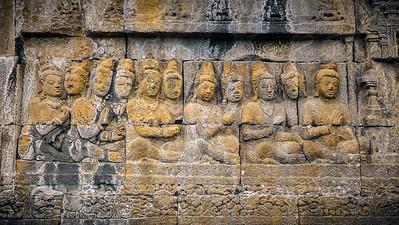 Reliefs Borobudur