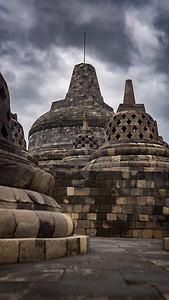Peak of Borobudur