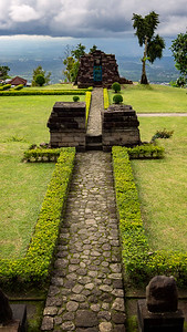 Candi Sukuh Walkway