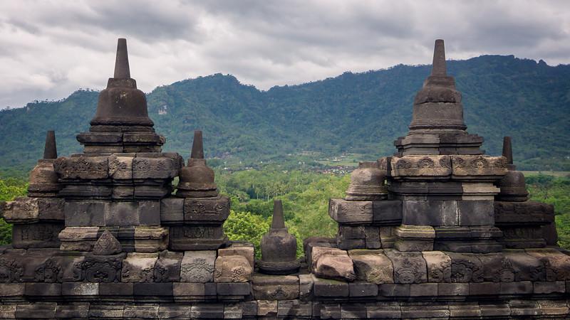 Borobudur Wall