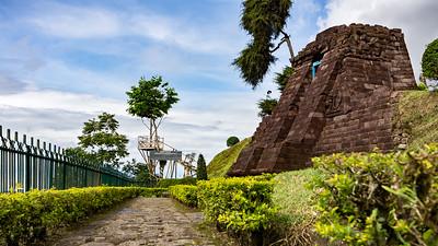 Candi Sukuh Entrance