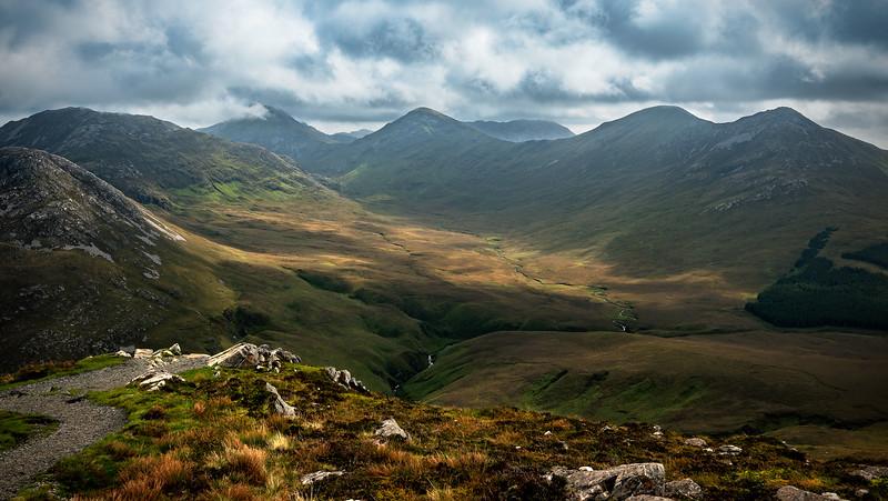 Connemara Mountains