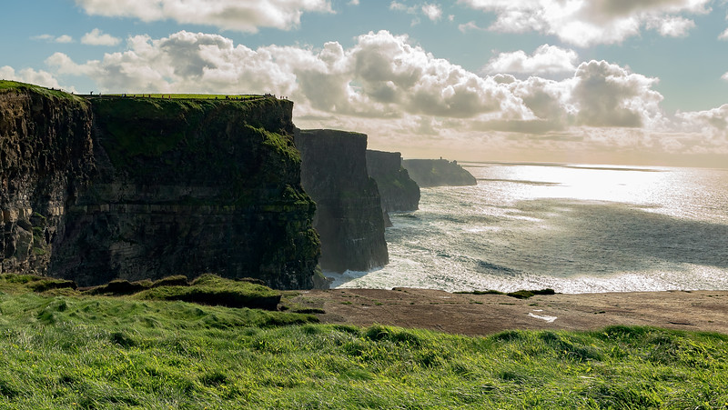 Cliffs Of Moher - First View