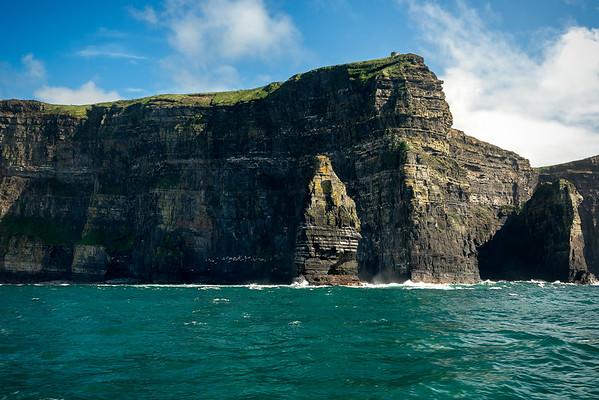 Cliffs Of Moher - Castle
