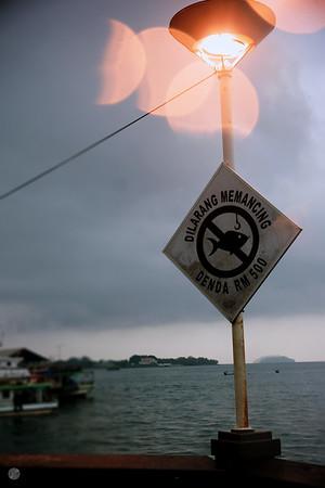 Light Post Kota Kinabalu