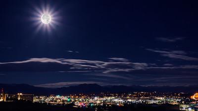 Super Moon Nightscape