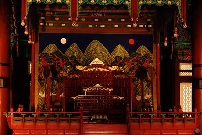 Gyeongbokgung Palace Throne