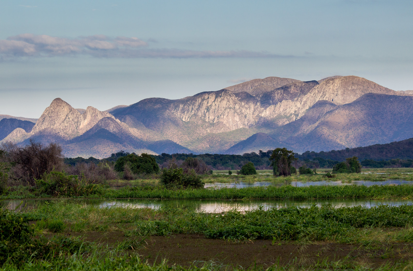 Amolar mountains, matogrossense national park, Pantanal, Brazil.