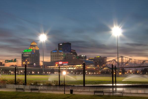 Louisville Waterfront Park, Louisville Kentucky