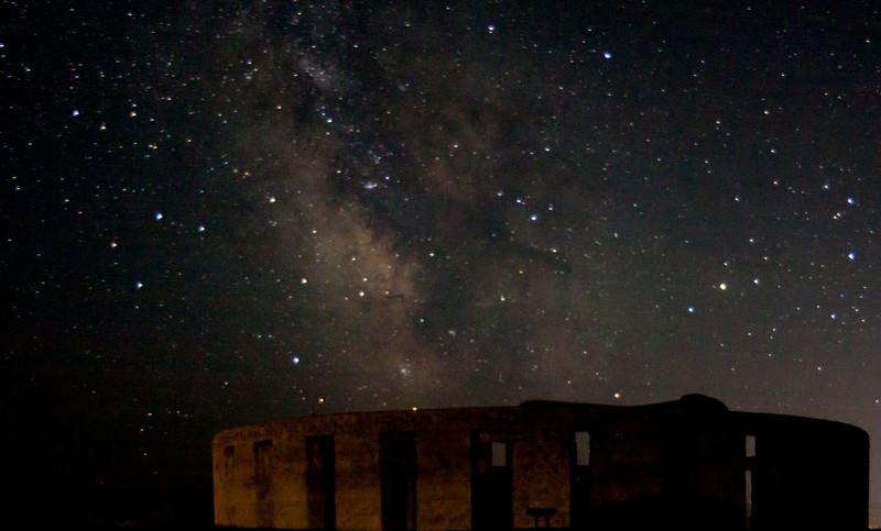 American Stonehenge night sky