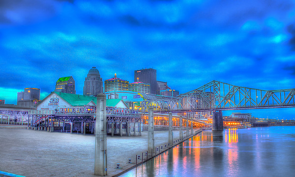 Louisville Waterfront Digital Print