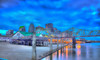 Louisville Waterfront Digital Print