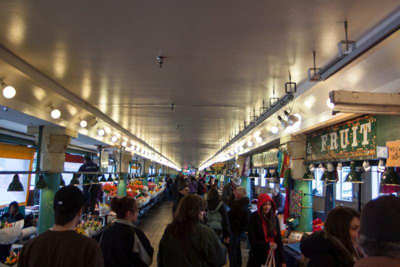 Pike's Place market hall