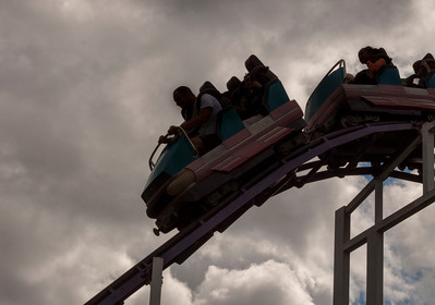 Oaks Park Roller Coaster