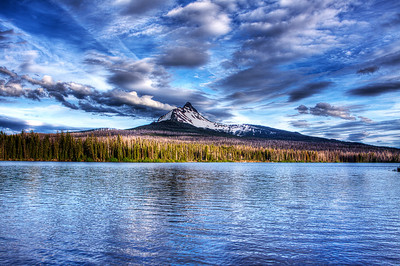 Big Lake reflects Mt. Washington