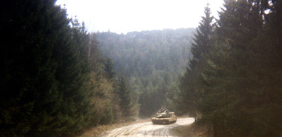 M1 tank in Germany
