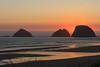 Sunset at Oceanside Oregon