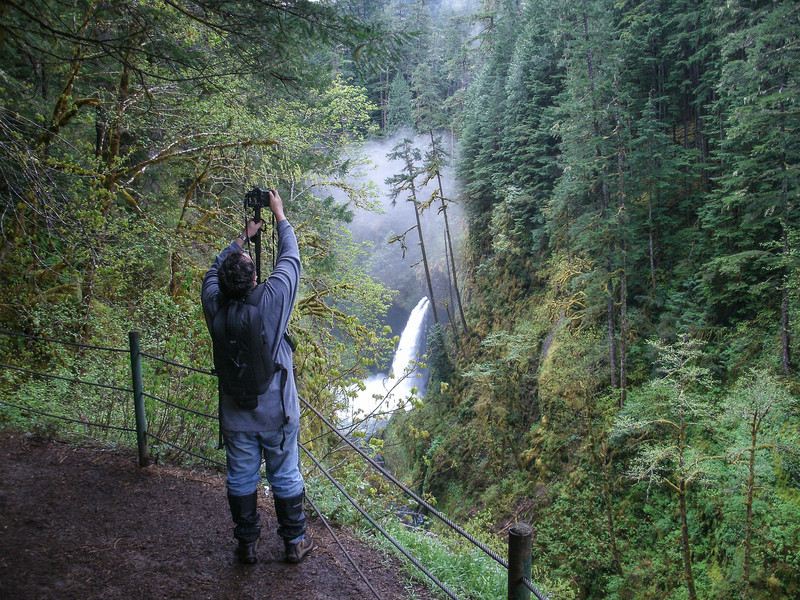 Photographing Eagle Creek