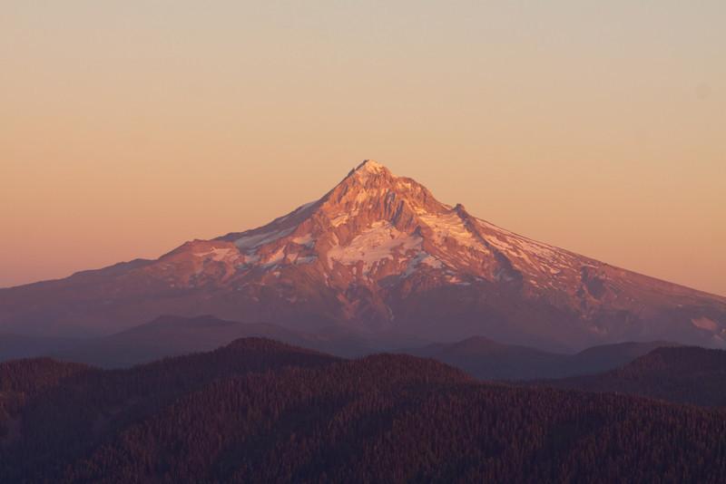 Sunset over Mt. Hood