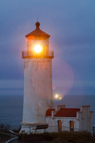 You can actually stay in the Light House Keeper's house.