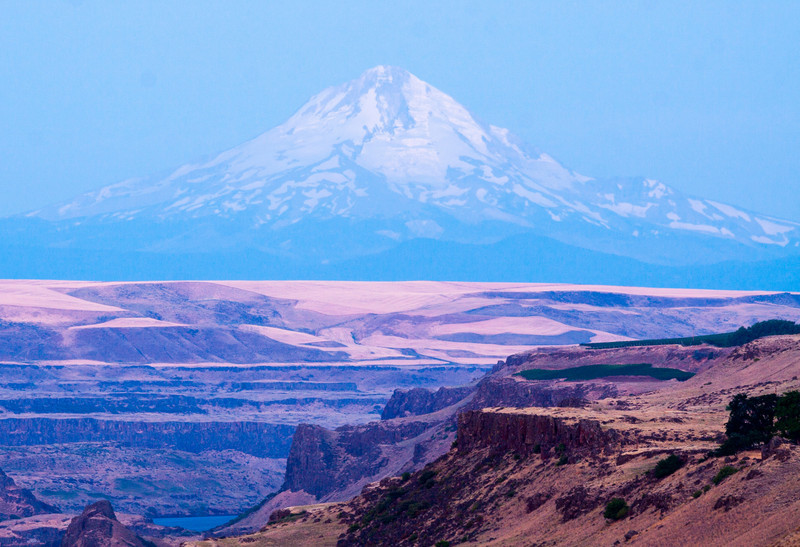 View of Mt. Hood from the American Stonehenge