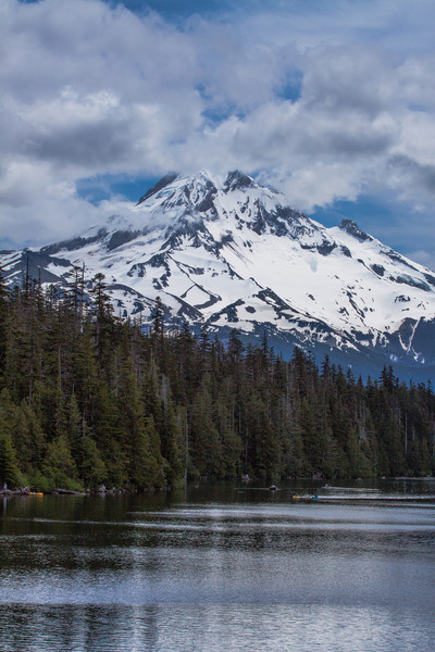 Mt Hood from Lost Lake