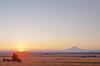 Goldendale sunset - Mt. Adams