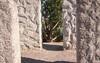 Inside the American Stonehenge memorial in Washington State.