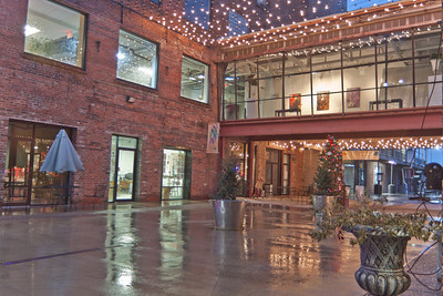 Mellwood Art Center courtyard Louisville Kentucky