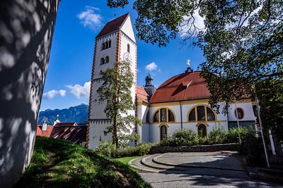 Basilika St. Mang Füssen, Germany