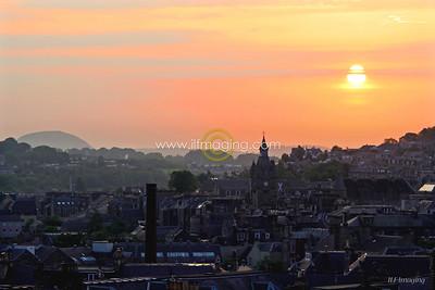 (B008) Hawick Sunrise