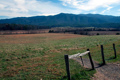 Picture of the Smokey Mountains taken in Cades Cove near Gatlinburg, Tn.
