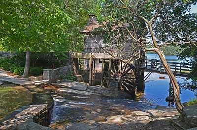 Old Mill at Stone Mountain, Georgia