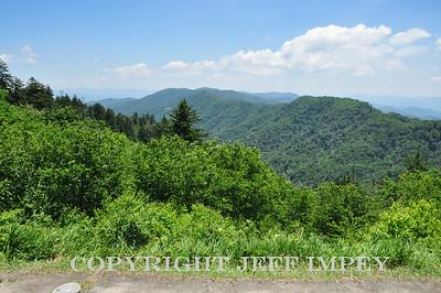 Scenery near Gatlinburg Tennessee