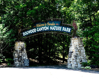 Entrance to Dogwood Canyon just South of Branson, Mo.
