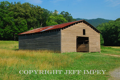 Barn taken on drive through Cades Cove near Gatlinburg,Tenessee.