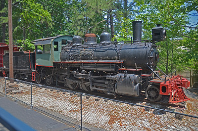 train engine at Stone Mountain, Georgia