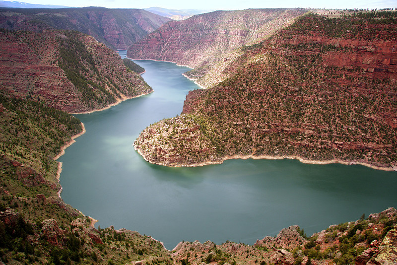 Flaming Gorge Reservoir - a National Recreation Area on the Green River