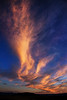 Glorious sunset clouds - streaming heavenward