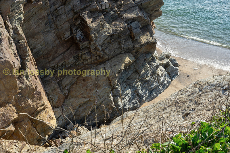 Porthleven cliff
