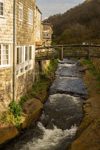 Monday, 16 August 2004  this stream got angry, very angry...Boscastle