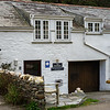 A upside down cottage in Boscastle which is a holiday let, I can reconmend it as we have stayed in it.