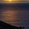 Cornish sunset , (Rame Head)